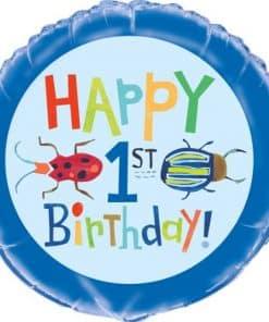 1st Birthday Bug Balloon