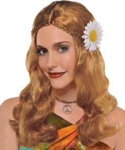 70's Hippie Chick Wig