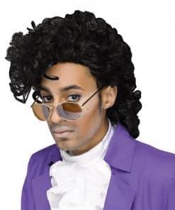 80's Purple Musician Wig