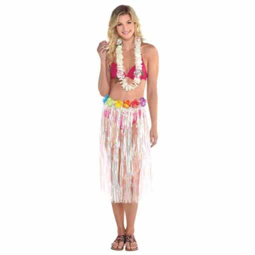 Adult Iridescent Grass Skirt