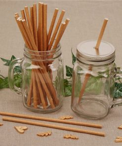 Brown Kraft Paper Straws