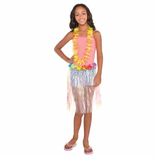 Childs Iridescent Grass Skirt
