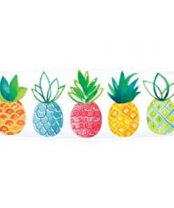 Fruit Salad Pineapple Print Serving Platter