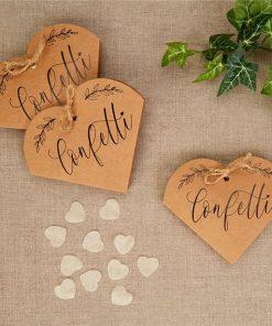 Hearts & Krafts Tissue Confetti