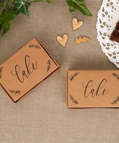 Hearts & Krafts Wedding Cake Boxes