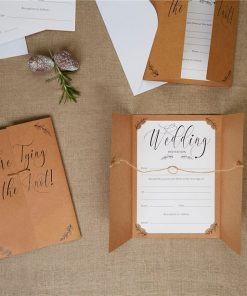 Hearts & Krafts Wedding Invitations