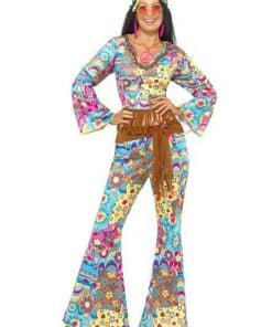 Hippie Flower Power Adult Costume