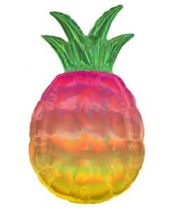 Iridescent Pineapple Supershape Balloon