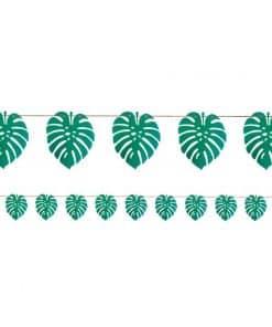 Palm Leaf Paper Banner