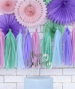 Pastel Tassel Garland Decoration