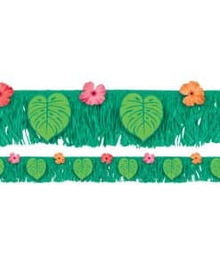 Tropical Jungle Fringe Banner
