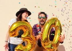 Parties for grown ups - special birthdays - 40th birthday party decorations, theme nights - Next Day Delivery