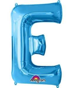 Blue Letter Balloons