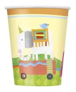 Circus Animals Party Paper Cups