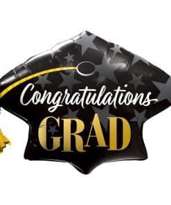 Congratulations Grad Stars Balloon