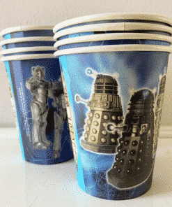 Doctor Who Party Paper Cups