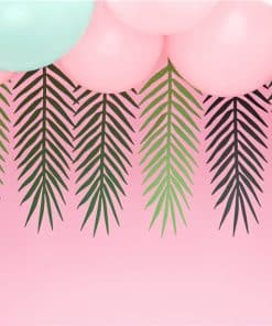 Green Palm Leaf Garland