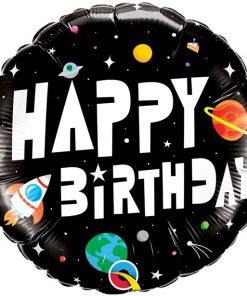 Space Birthday Balloon