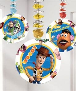 Toy Story Party Hanging Cutout Decoration