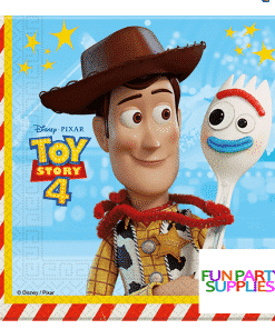 Toy Story 4 Party Paper Napkins