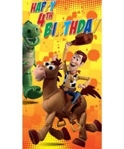 Toy Story Age 4 Birthday Card
