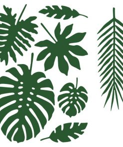 Tropical Leaf Decorations
