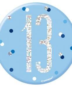 Blue Birthday Glitz