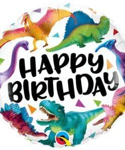 Birthday Dinosaurs Balloon
