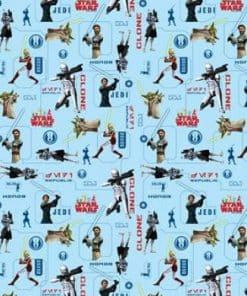 Clone Wars Wrapping Paper