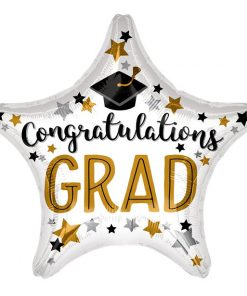 Congrats Grad Jumbo Star Balloon