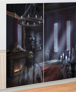 Halloween Dark Manor Wall Decoration Kit