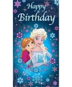 Frozen Happy Birthday Card