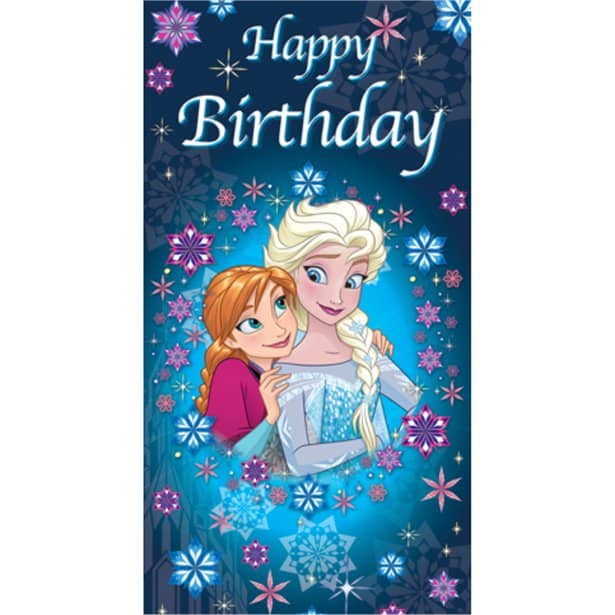 Incredible Frozen Happy Birthday Card Party Decorations Next Day Delivery Birthday Cards Printable Benkemecafe Filternl