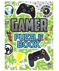 Gamer Mini Puzzle book