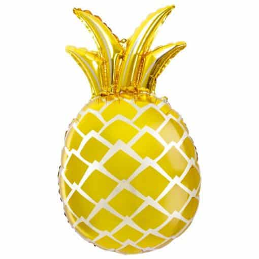 Gold Pineapple Supershape Foil Balloon