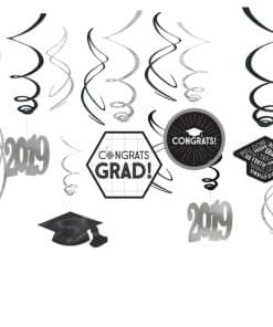 Graduation 2019 Hanging Swirls
