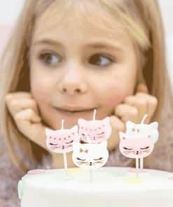 Meow Party Candles