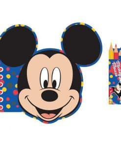 Mickey Mouse Activity Book & Pencils