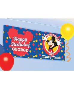 Mickey Mouse Personalised Banner