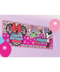 Minnie Mouse Personalised Banner