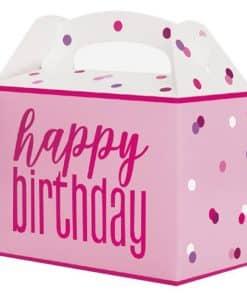 Pink Birthday Glitz Party Box