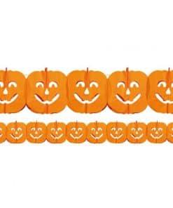 Pumpkin Paper Garland