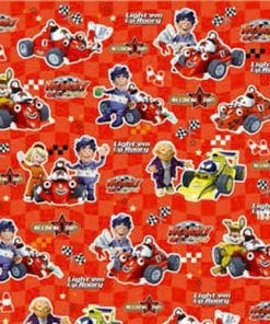 Roary The Racing Car Wrapping Paper