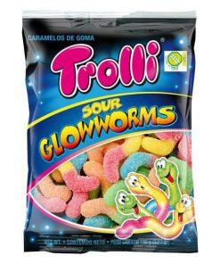 Sour Glowworm Sweets