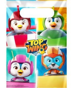 Top Wing Party Plastic Loot Bags
