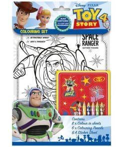 Toy Story 4 Colouring Set
