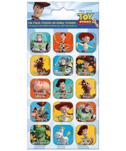 Toy Story 4 Foiled Caption Stickers Sheet