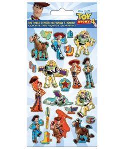 Toy Story 4 Foiled Sticker Sheet