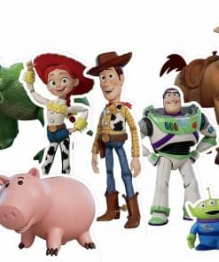 Toy Story 4 Tabletop Cutout Pack
