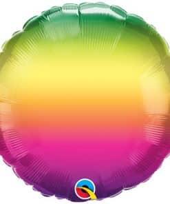 Vibrant Ombre Balloon